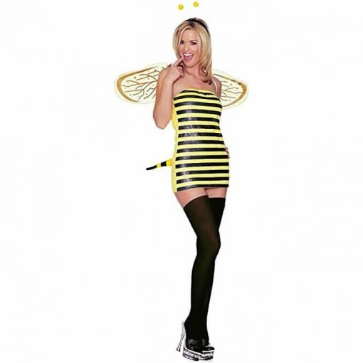 Bumble Bee Costume - Small/Medium - Dress Size 4-8