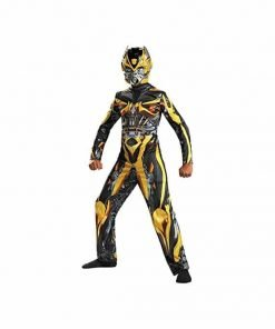 Bumblebee Classic Muscle Costume - Large