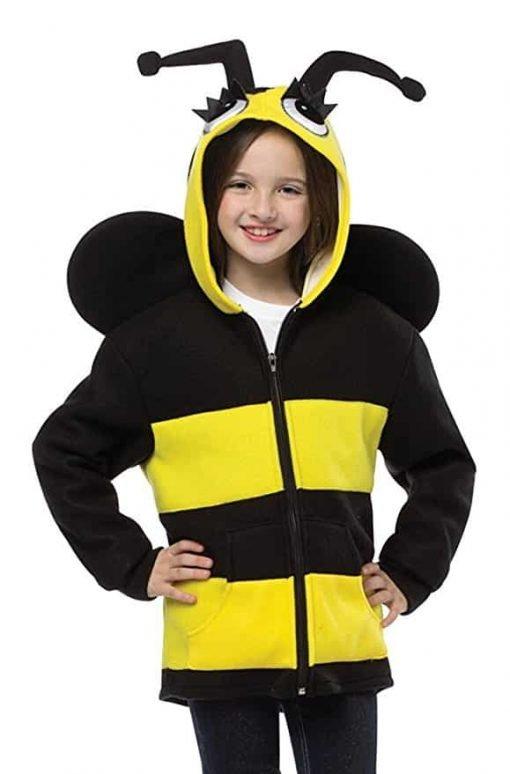Rasta Imposta Girl's Bumblebee Hoodie