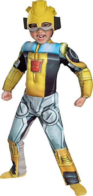 WMU 1171244 Bumblebee Rescue Bot Muscle 3T Toddler Costumes