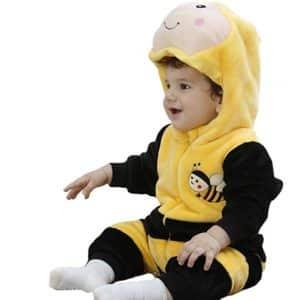 Tonwhar Infant Bee Animal Onesie Costume Halloween Costume Outfit