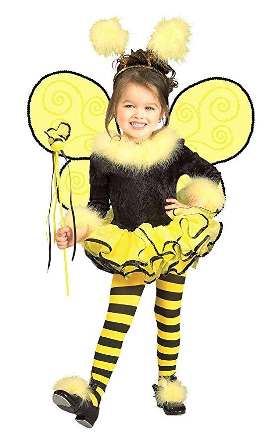 Kids-Costume Bumblebee Child Costume Sm Halloween Costume - Child Small