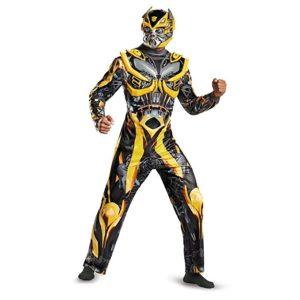Disguise Men's Hasbro Transformers Age Of Extinction Bumblebee Deluxe Costume