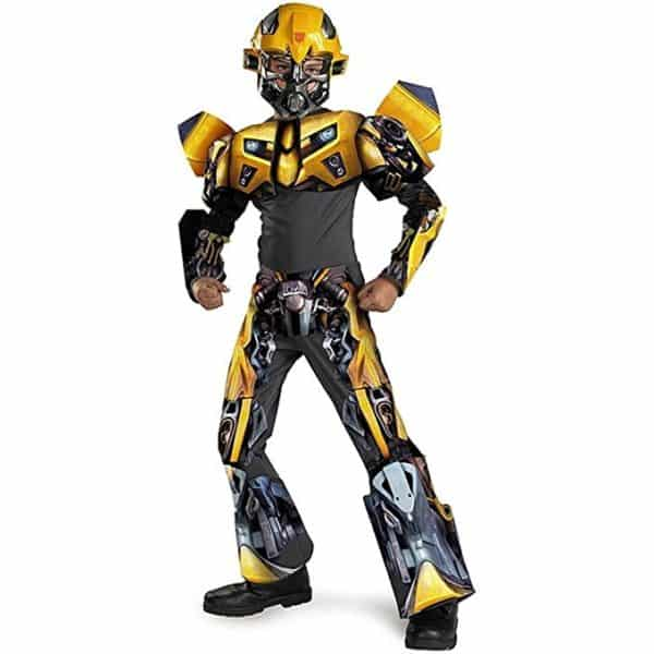 Bumblebee Movie 3-d Deluxe Child Costume - Medium (7-8)