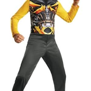 UHC Boy's Transformers Bumblebee Basic Fancy Dress Child Halloween Costume, Child M (7-8)