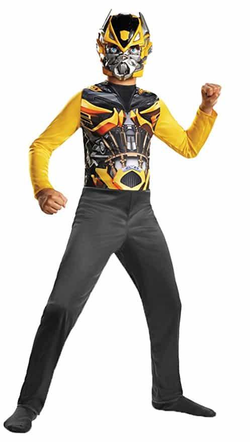 UHC Boy's Transformers Bumblebee Basic Fancy Dress Child Halloween Costume, Child S (4-6)