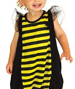 Baby Kids Bumblebee Halloween Costumes Role Play Toddlers Cosplay Party Jumpsuit
