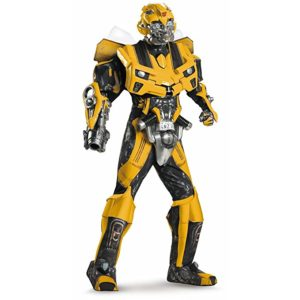 UHC Men's Theatrical Quality Transformers Bumblebee Theme Party Costume