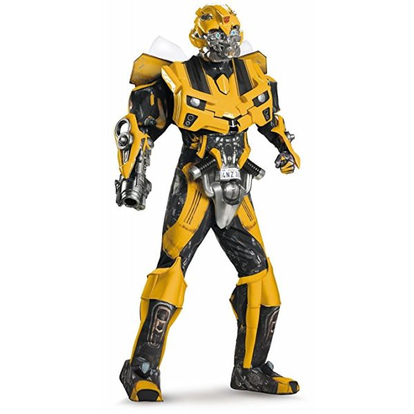 Disguise Men's Transformers Bumblebee Theatrical Costume