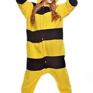 ABING Halloween Pajamas Homewear OnePiece Onesie Cosplay Costumes Kigurumi Animal Outfit Loungewear