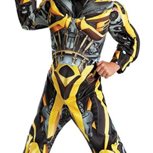 UHC Bumblebee Muscle Transformers Toddler Kids Fancy Dress Halloween Costume