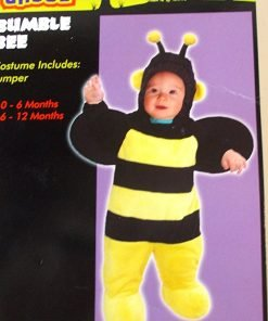 Bumble Bee Bumblebee Child Infant Costume Jumper 0-6M NIP