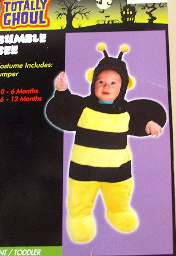 Bumble Bee Bumblebee Child Infant Costume Jumper 0-6M NIP