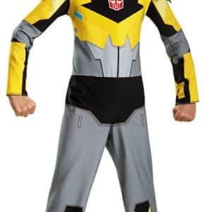 UHC Boy's Transformers Bumblebee Theme Party Child Halloween Costume