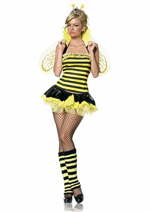 Leg Avenue Women's Queen Bee Costume
