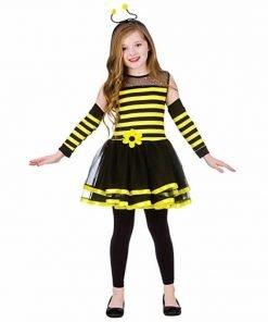 Bumblebee (5-7) Girls Fancy Dress Animal Costume