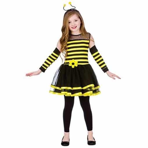 Bumblebee (5-7) Girls Fancy Dress Animal Costume