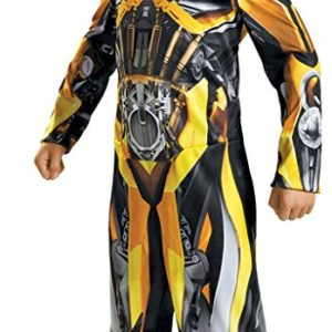 UHC Boy's Bumblebee Classic Movie Theme Fancy Dress Child Halloween Costume, Child M (7-8)