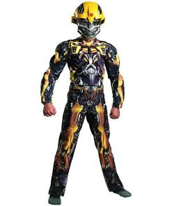 Transformers 3 Dark of the Moon Movie - Bumblebee Classic Muscle Child Costume
