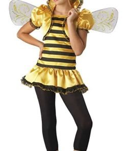 UHC Tween Honey Bee 2B Outfit Theme Party Fancy Dress Girl's Halloween Costume