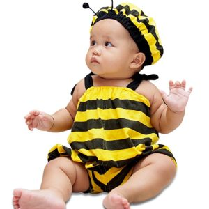 I-Fame Fancy Collection 100% Cotton Infant Baby Bee Costume