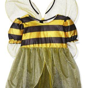 Children's Lil Bee Child Costume For Animal Jungle Farm Fancy Dress