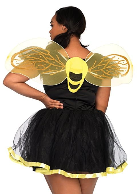 Leg Avenue Women's Plus-Size Daisy Bee Costume