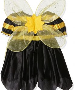 Children's Lil Bee Child Costume For Animal Jungle Farm Fancy Dress